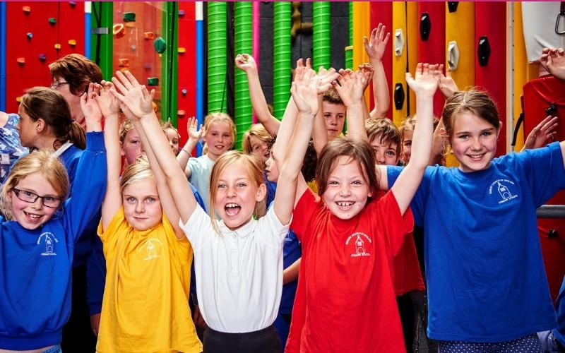Koululaislippu ryhmätyötilalla / luokkaretki Pori