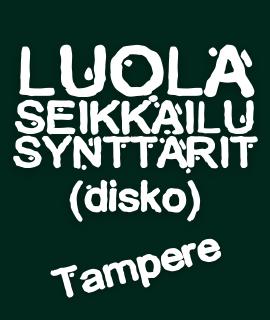 Luolaseikkailusynttärit Diskossa Tampere