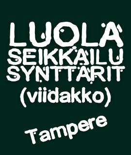 Luolaseikkailusynttärit Viidakossa Tampere