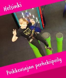 Poikkeusajan perhekiipeily Helsinki