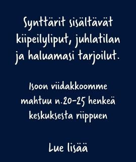 Synttärit isossa viidakossa Helsinki