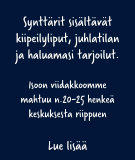 Synttärit isossa viidakossa Tampere