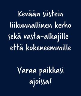 Kiipeilykerho Helsinki kevät 2021