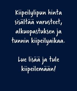 Kiipeilylippu Tampere