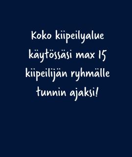 Privaattikiipeily Tampere (max. 15 kiipeilijälle)