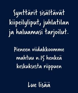 Synttärit pienessä viidakossa Tampere
