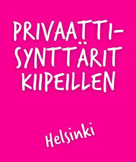 Privaattisynttärit Helsinki