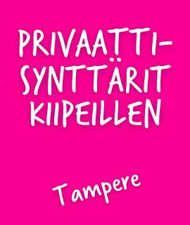 Privaattisynttärit Tampere