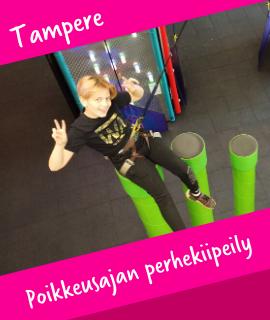 Poikkeusajan perhekiipeily Tampere