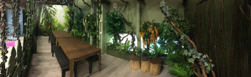 Viidakko-juhlatila Turussa